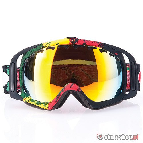 Gogle OAKLEY Crowbar Tanner Hall (raste mane/fire iridium) multikolor