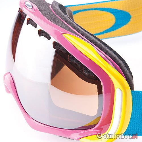 Gogle OAKLEY Crowbar (hot pink/black iridium) multikolor