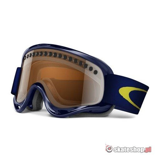Gogle OAKLEY O-Frame Snow (dark blue/black iridium) granatowe