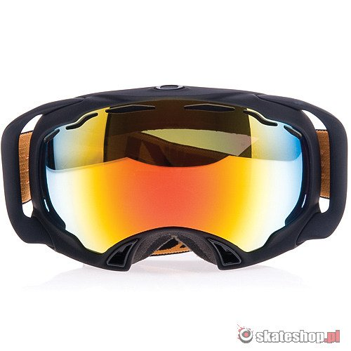 Gogle OAKLEY Splice (nightrider/fire iridium) czarne