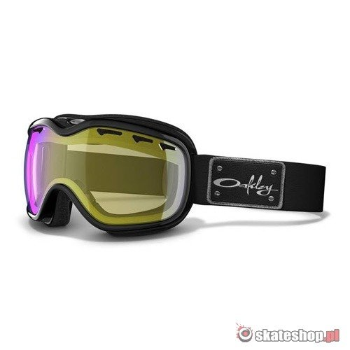 Gogle OAKLEY Stockholm WMN (jet black/hi yellow) czarne
