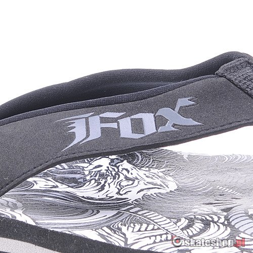Japonki FOX Autiscene (black) czarne K3J8