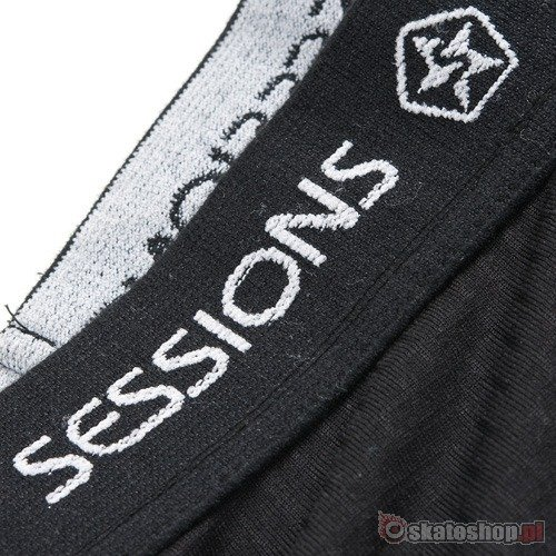 Kalesony SESSIONS Hybrid WMN (black magic) czarne
