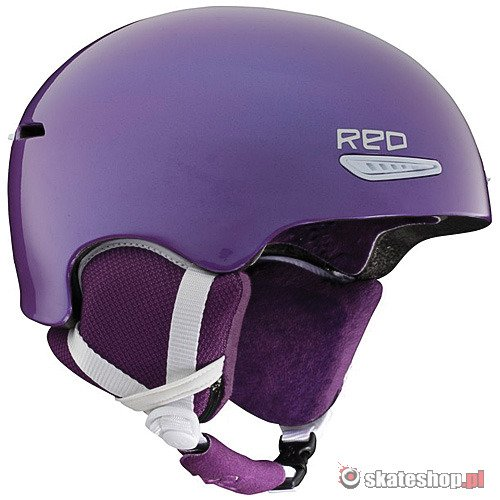 Kask R.E.D. Pure WMN (grape) fioletowy