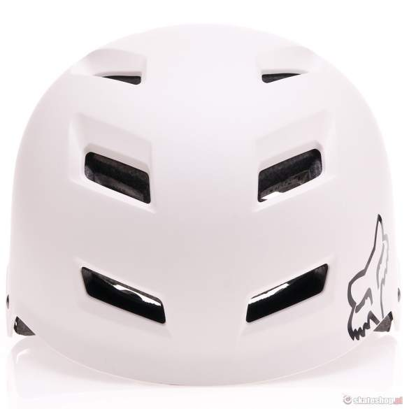 Kask rowerowy FOX Transition HS 13 (matte white) biały