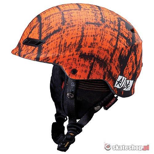 Kask snowboardowy RIDE Ninja (orange) pomara?czowy
