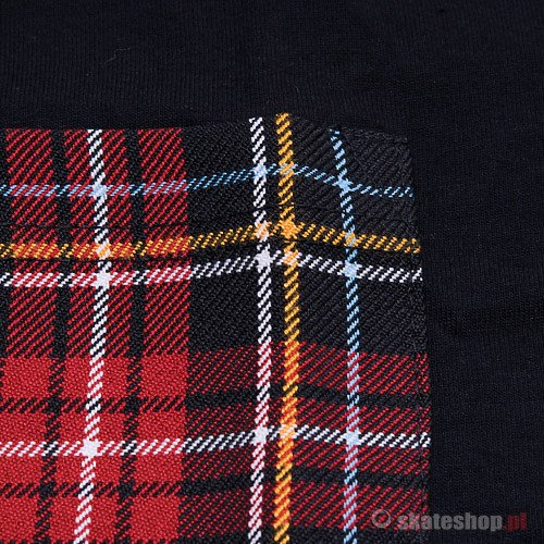 Koszulka 79th Pocket (black/check) czarna