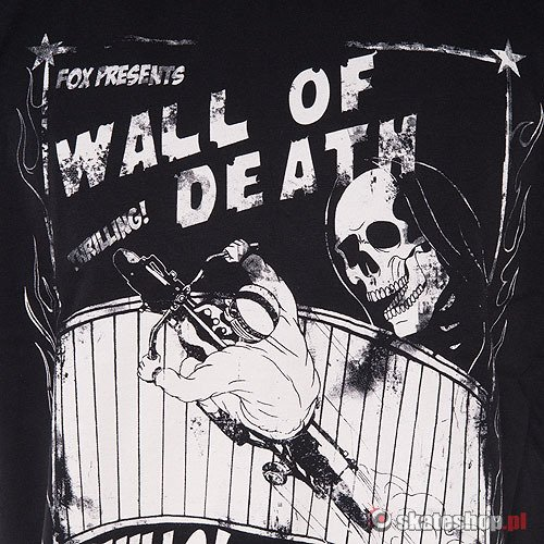 Koszulka FOX Wall Of Death (black) czarna