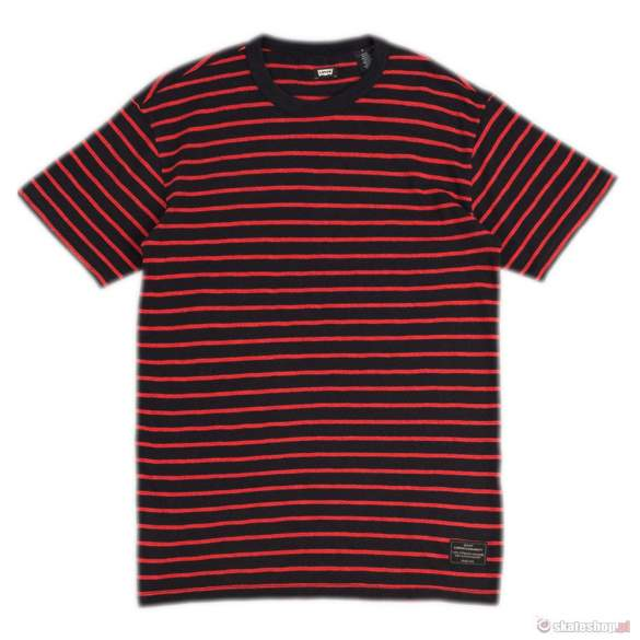 Koszulka LEVI'S Striped Tee (black)