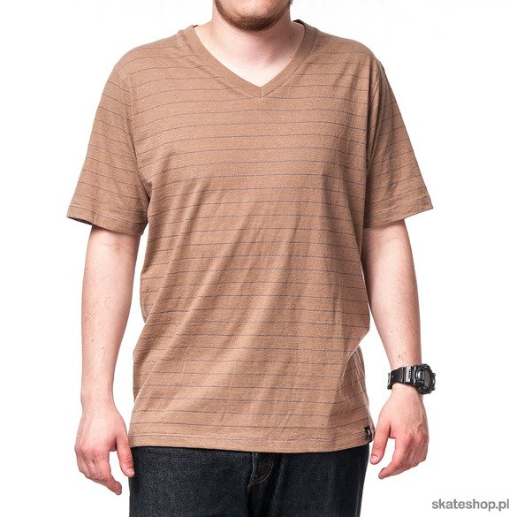 Koszulka MATIX Ampere V-Neck (heather oatmetal)