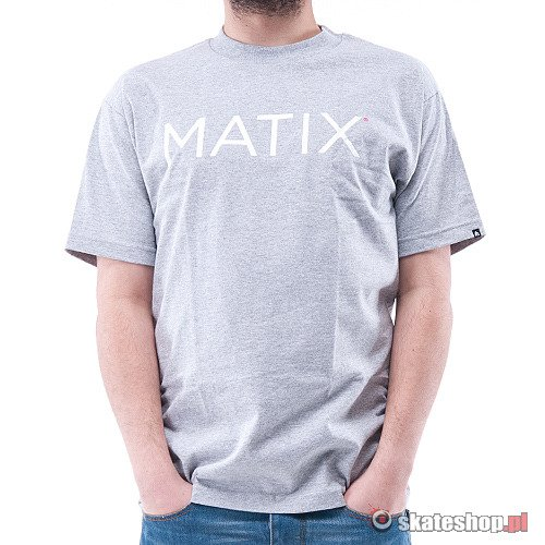 Koszulka MATIX Monoset (heather grey)