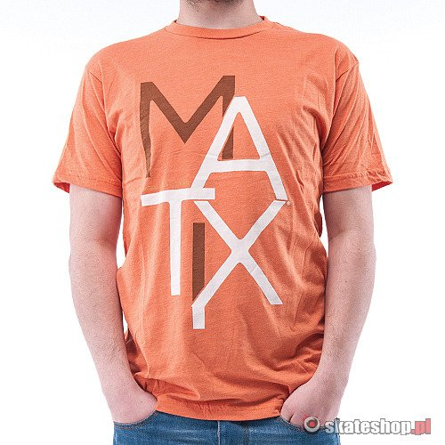 Koszulka MATIX Monospace Premium (heather orange)