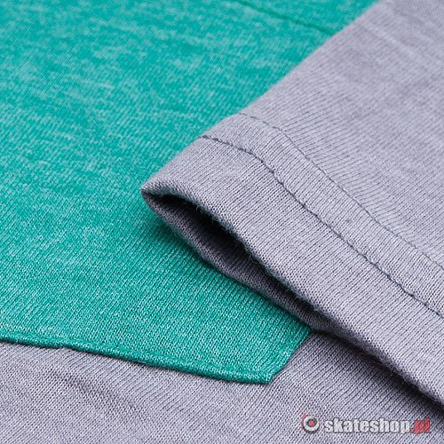 Koszulka MATIX Solid Pocket (heather grey) szara