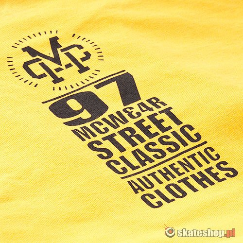 Koszulka MC WEAR High Class (yellow) żółta