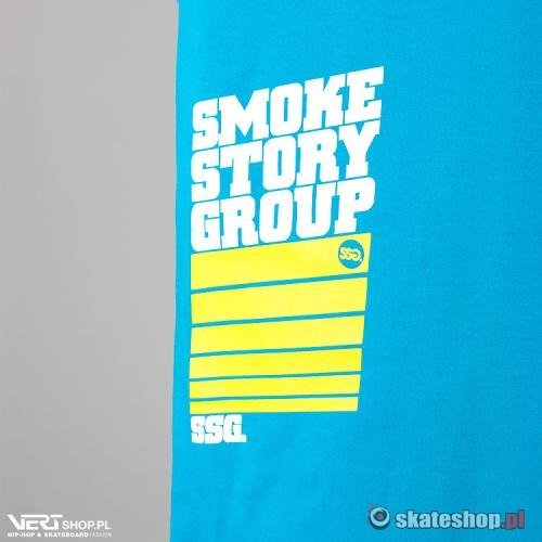 Koszulka SMOKESTORY STRIPS (blue/yellow)