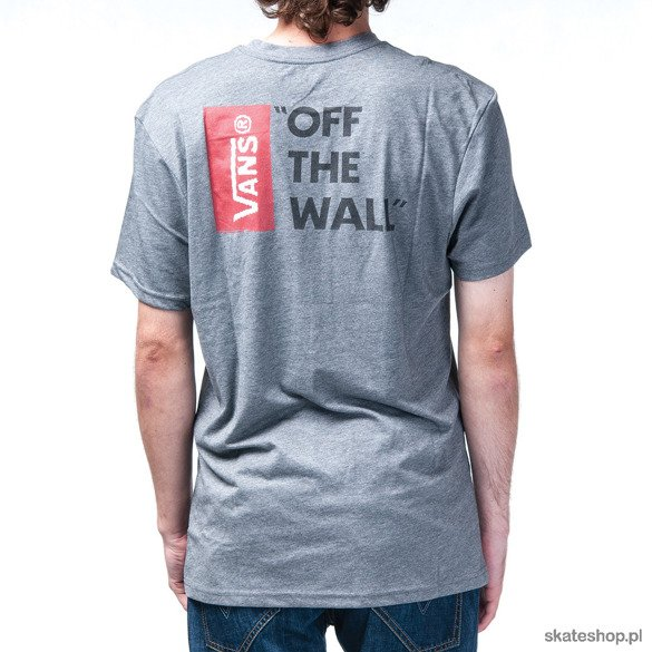 Koszulka VANS Off The Wall (heather grey)