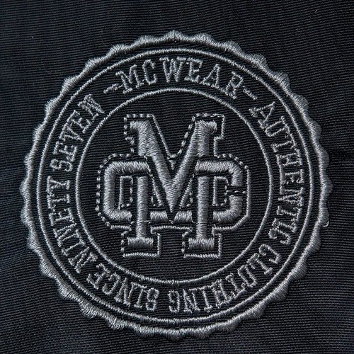 Kurtka MC Wear 09 (black) czarna ortalion