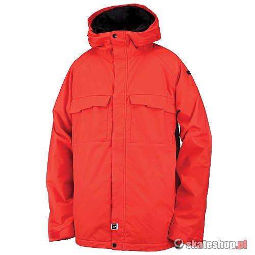Kurtka snowboardowa RIDE Kent Insulated (poppy red) czerwona
