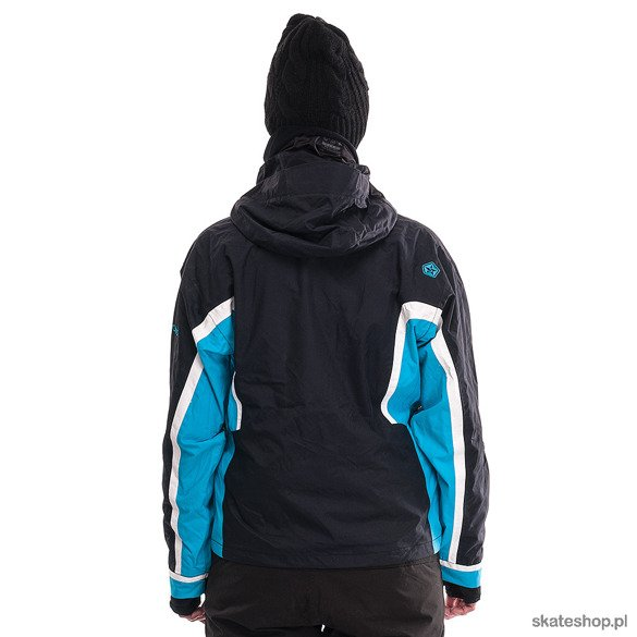 Kurtka snowboardowa SESSIONS Cambridge (black/paradise)