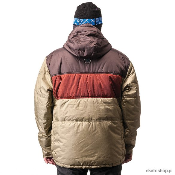 Kurtka snowboardowa SESSIONS Motormouth (brown/olive)