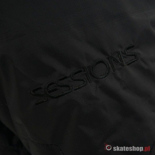 Kurtka snowboardowa SESSIONS Thalia WMN (black magic) czarna