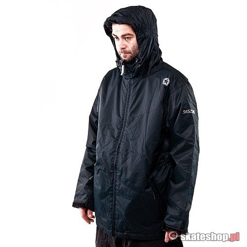 Kurtka snowboardowa SESSIONS Truth (black) czarna