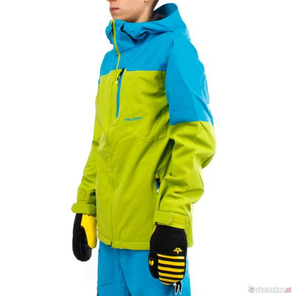 Kurtka snowboardowa Volcom Shadow Hill (green/blue)