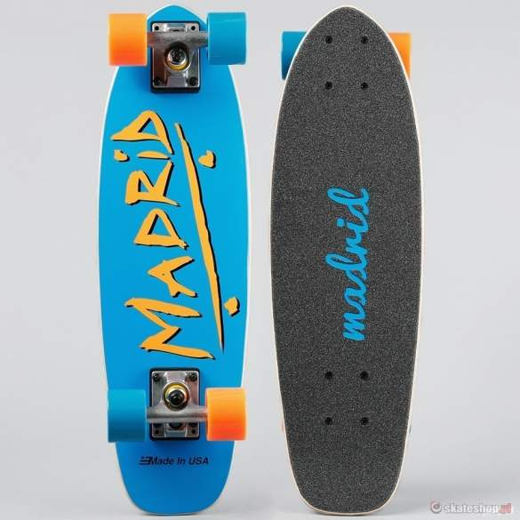 Longboard MADRID Pee Wee (party blue) niebieska
