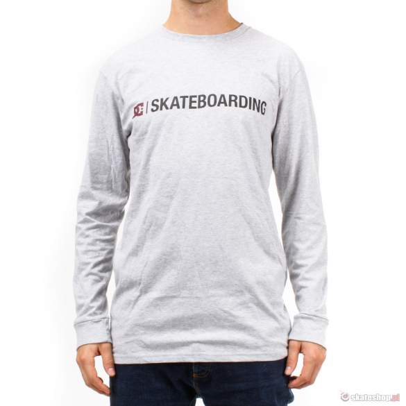 Longsleeve DC Minimalis (heather gray) szary