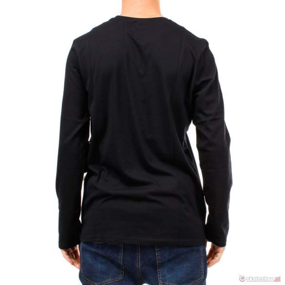 Longsleeve ELEMENT Vertical (black)