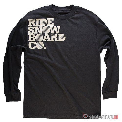 Longsleeve RIDE Board Co. (black) czarny
