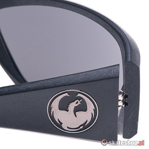 Okulary DRAGON Calaca (eco jet black/grey) czarne