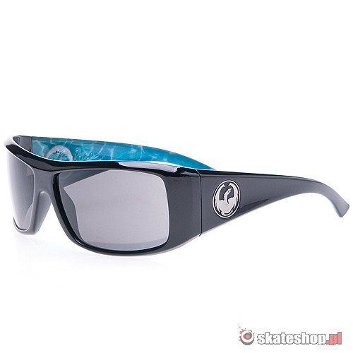Okulary DRAGON Calaca (palm springs pool/grey) czarne
