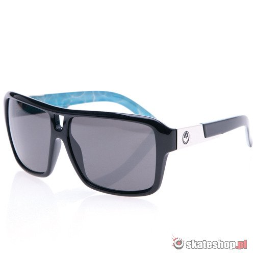Okulary DRAGON The Jam (Palm Springs pool/grey) czarno-niebieskie