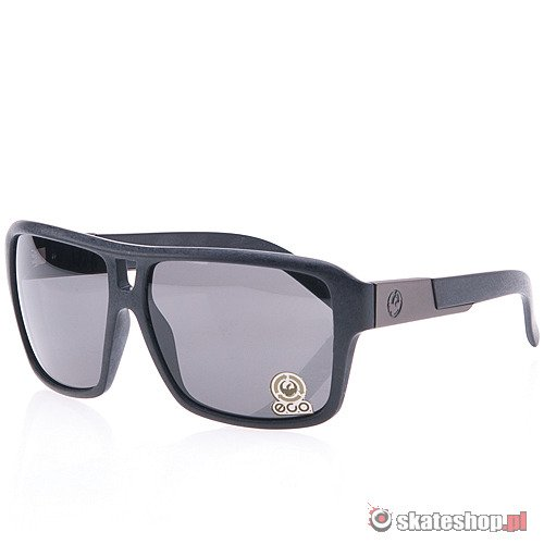 Okulary DRAGON The Jam (eco matte/grey) czarne