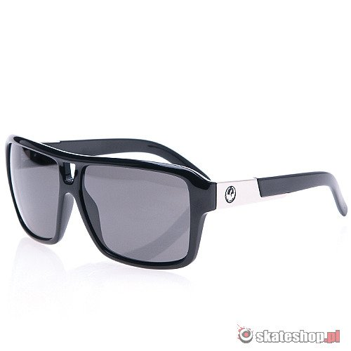 Okulary DRAGON The Jam (jet/grey) czarne