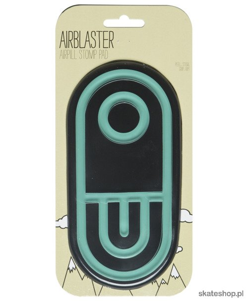 Pad AIRBLASTER Airpill Stomp (teal/glow)