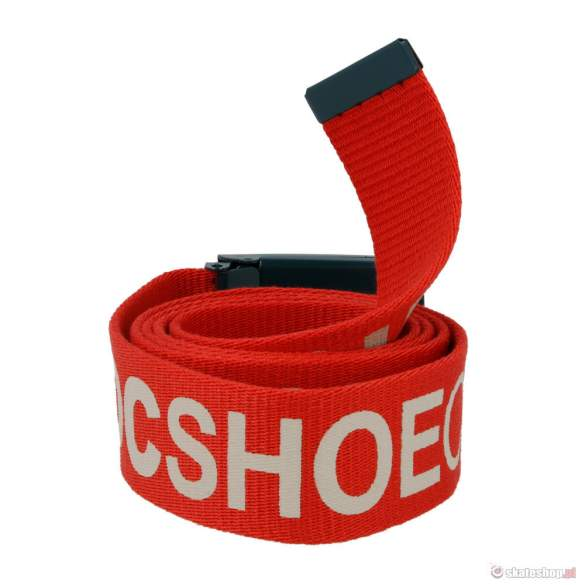 Pasek DC Chinook (athletic red) czerwony