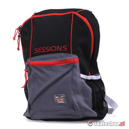 Plecak SESSION Vancuver black/grey