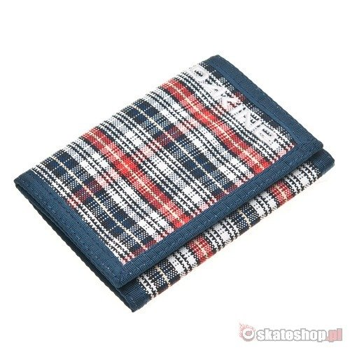 Portfel DAKINE Vert Rail (scotch plaid) granatowy w kratę