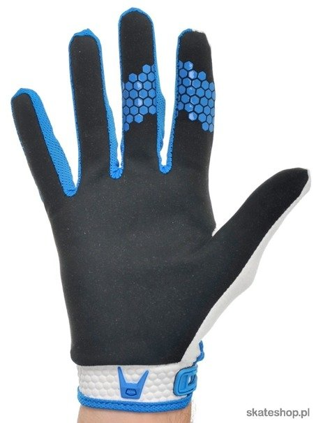 Rękawice FOX Giant Digit Full (white/blue)