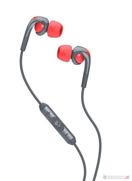 Słuchawki 2.0 FIX IN EAR Grey/Hot Red Mic 3