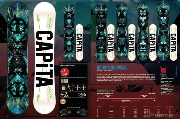 Snowboard CAPITA Indoor Survival'14 154