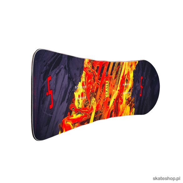 Snowboard LIB TECH SK8 BANANA 154 red