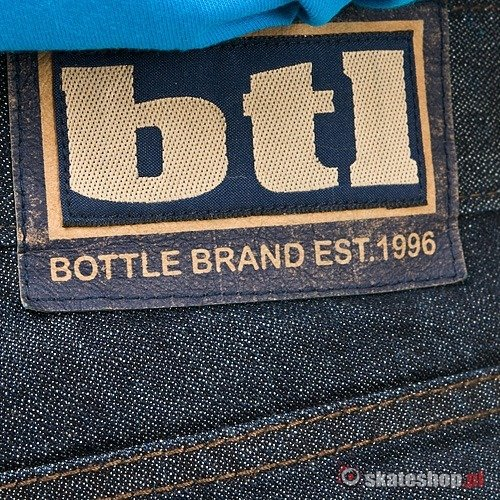 Spodnie BOTTLE 0802 (dark denim) ciemny jeans