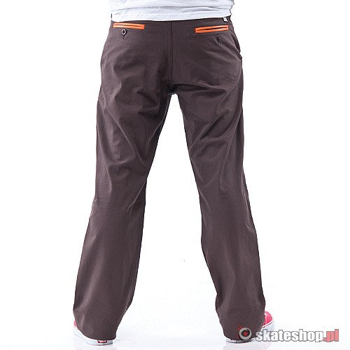 Spodnie TURBOKOLOR Chinos RF '12 (brown) brązowe