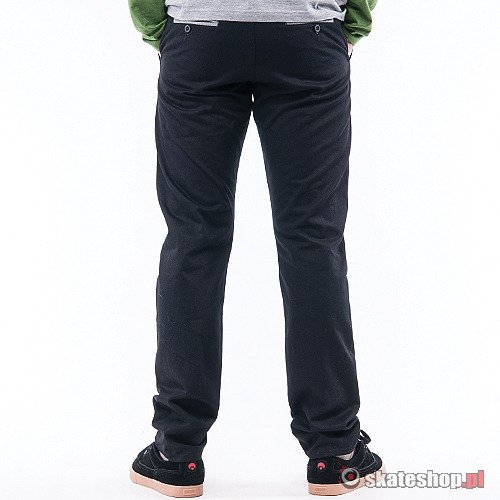 Spodnie TURBOKOLOR Chinos SF (black) czarne