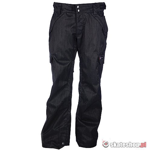 Spodnie snowboardowe RIDE Highland Insulated WMN (charcoal denim) ciemno szare