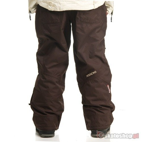 Spodnie snowboardowe SESSIONS Relay WMN (java brown)