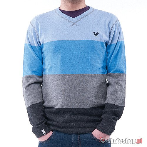 Sweter FENIX Kgt V (blue/heather grey) szaro-niebieski